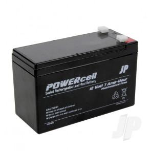 JP 12V 7Ah Powercell Gel Battery for RC Model