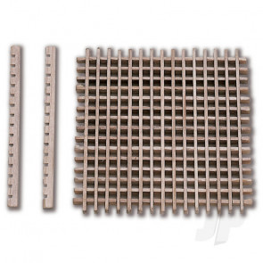 Constructo 80053 Pre-Cut Grating 39x39 - Model Ship Accessories
