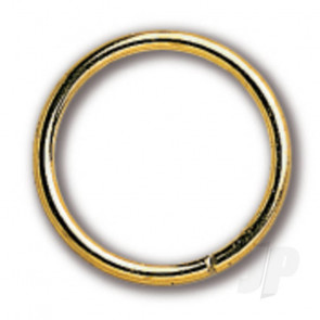 Constructo 80069 Brass Ring 10x1.5 - Pack of 20 - Model Ship Accessories