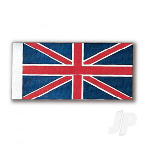 Constructo 80190 Union Jack UK Flag 36x70mm - Model Ship Accessories