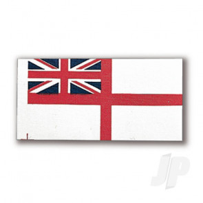 Constructo 80192 White Ensign Flag 36x70mm - Model Ship Accessories