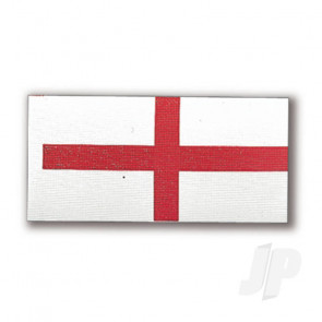 Constructo 80194 English St. George's Cross England Flag 36x70mm - Model Ship Accessories