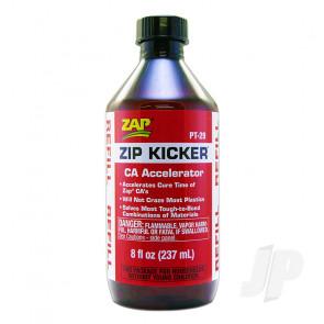Zap Zip Kicker Refill 8oz (PT29) Cyano CA Super Glue Activator Accelerator
