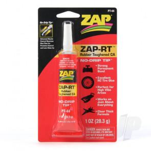 Zap PT44 Zap-RT Rubber Toughened CA 1oz Cyno Super Glue