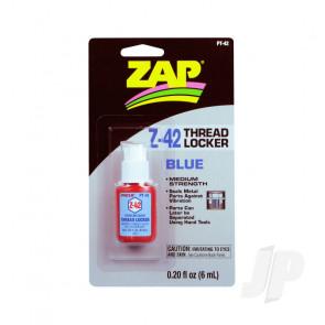 Zap PT42 Z-42 Blue Thread Lock Locker .20oz