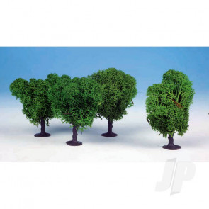 Heki 1031 4 Lichen Avenue Trees 7cm (Light Green) For Scenic Diorama Model Trains