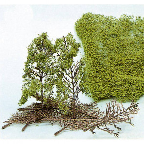 Heki 1532 15 Tree Kits Panoramic 15cm For Scenic Diorama Model Trains