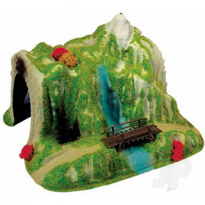 Heki 5032 Tunnel With Bridge For Scenic Diorama Model Trains