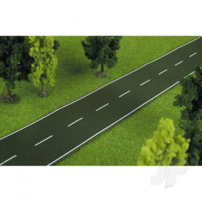 Heki 6561 Road Strip 1m Ho For Scenic Diorama Model Trains