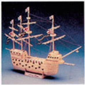 Hobby's Matchcraft Mary Rose Ship 11540 Wood Matchstick Kit