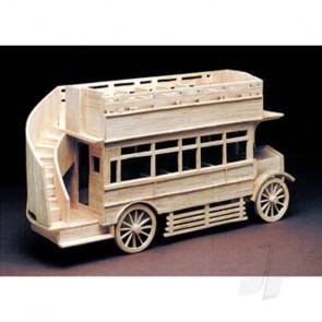 Hobby's Matchbuilder Veteran Bus Wood Matchstick Kit