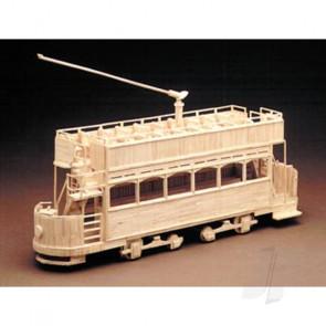 Hobby's Matchbuilder Tram Car Wood Matchstick Kit