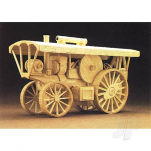Hobby's Matchbuilder Traction Engine Steam Wood Matchstick Kit