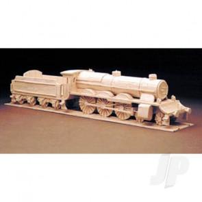 Hobby's Matchbuilder Loco & Tender Locomotive Steam Train Wood Matchstick Kit