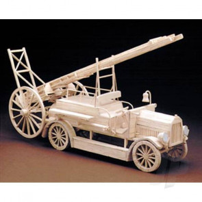 Hobby's Matchbuilder Fire Engine Truck Wood Matchstick Kit