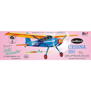 Cessna 180 - 508mm Wingspan Flying Model Balsa Aircraft Kit from Guillow's