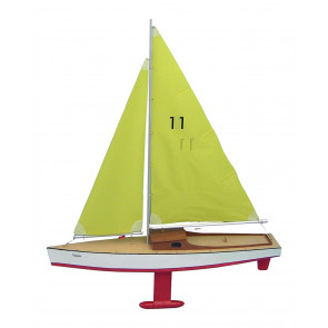Clipper Yacht Sail Boat - Beginners Traditional Wooden Kit from Aero-Naut