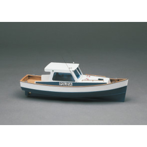 Mantua Police Boat Motor Launch 1:35 Scale Wood Ship Kit
