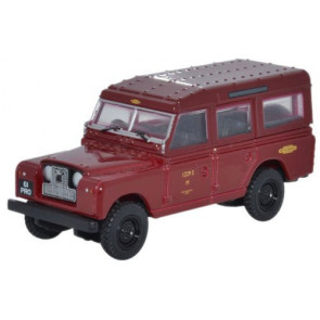Land Rover Series II Station Wagon British Railways 1:76 Scale Oxford Diecast 76LAN2010