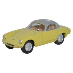 Lotus Elite Sunburst Yellow/Silver - 1:76 Scale 00 Gauge Oxford Diecast 76LTE003