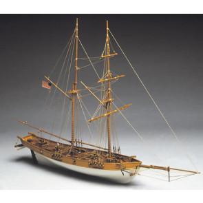 Mantua Albatros 1800's Baltimore Clipper 1:40 Scale Wood Ship Kit