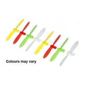 Twister Neon-X or Hubsan Q4 Quadcopter Spare Set of 8 Propellers Rotor Blades