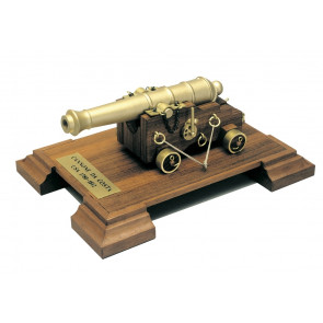 American Coastal Cannon 1780-1812 Mantua Wood Construction Kit 1:17 Scale 100x150mm