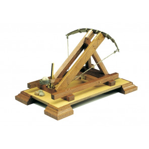 Roman Catapult 1st Century BC Mantua Wood Construction Kit 1:17 Scale 105x210mm