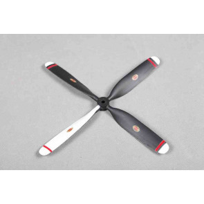 4 Bladed 10.5 x 8 Inch Propeller for Roc Hobby F2G Corsair High Speed Racer or Similar