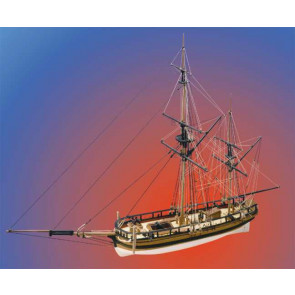 Caldercraft HM Mortar Vessel Convulsion 1804 Mortar Boat 1:64 Scale