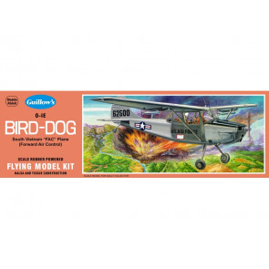 Cessna Bird Dog 457mm Wingspan Flying Model Balsa Aircraft Kit from Guillow's