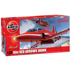 Airfix Red Arrows BAE Hawk T1 1:72 | A02005A Plastic Model Aeroplane RAF Kit