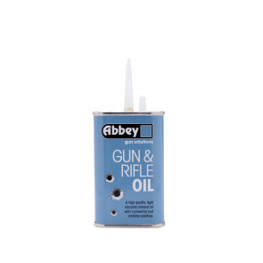 Abbey 125ml Gun And Rifle Oil - Lubricant for Shotgun, Airgun, Pistol etc