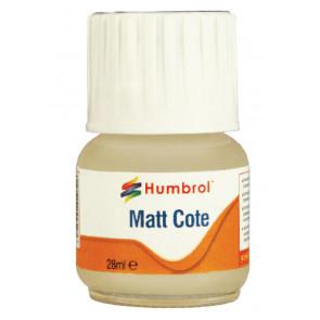 Humbrol Modelcote Matt Cote Clear Varnish 28ml Bottle