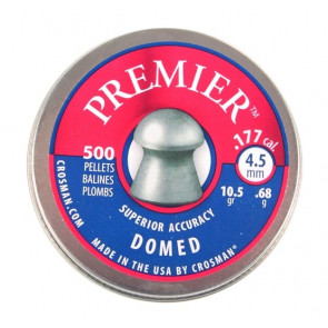 Crosman Premier Heavy 10.5gr Ultra Magnum Domed .177 Pellets Qty 500