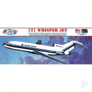 Atlantis Models 1:96 Boeing 727 Whisper Jet Airliner Eastern TWA Plastic Kit