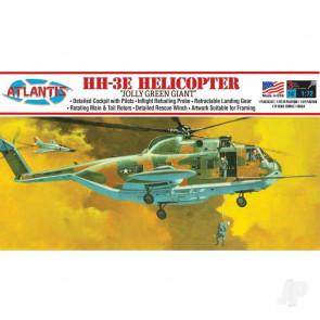 Atlantis Models 1:72 Sikorsky HH-3E Jolly Green Giant Helicopter Plastic Kit