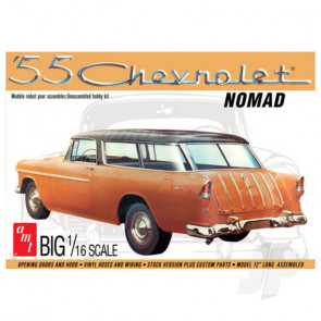 AMT 1:16 1955 Chevy Nomad Wagon Plastic Car Kit