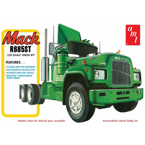 Mack R685ST Semi Tractor Truck 1:25 Scale AMT Detailed Plastic Kit