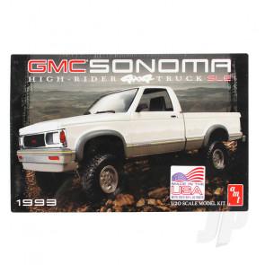 AMT 1:20 1993 GMC Sonoma 4x4 Plastic Car Kit