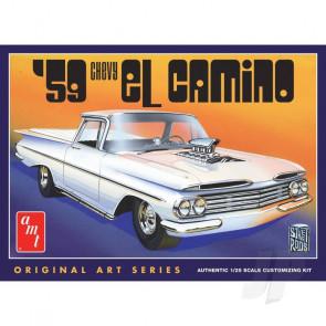 AMT 1:25 1959 Chevrolet El Camino (Original Art Series) Plastic Car Kit
