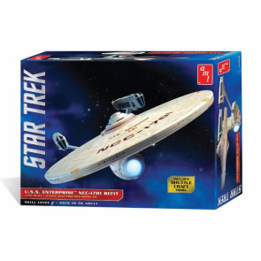 Star Trek USS Enterprise NCC-1701 Refit - AMT 1:537 Scale Plastic Kit