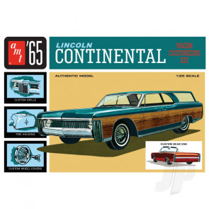 AMT 1:25 1965 Lincoln Continental Plastic Car Kit