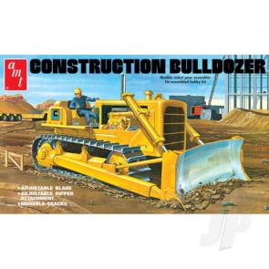 AMT 1:25 Construction Bulldozer Plastic Kit