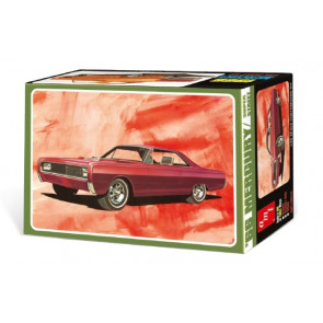 1966 Mercury Hardtop 3-in-1 Model - Highly Detailed 1:25 Scale AMT Plastic Kit