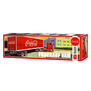 Fruehauf FB Beaded Panel Coca-Cola Trailer 1:25 Scale AMT Detailed Plastic Kit