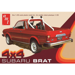 AMT 1:25 1978 Subaru Brat Pickup 2T Plastic Kit Car Truck Model