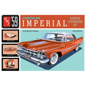 1959 Chrysler Imperial  Hardtop 1:25 Scale AMT Highly Detailed Plastic Kit