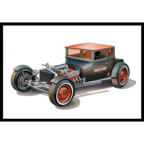 AMT 1:25 1925 Ford Model T Chopped Car | 2 Plastic Kits in 1! | Rat/Hot Rod