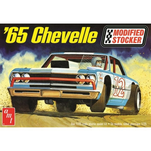 AMT 1:25 1965 Chevy Chevelle Modified Stocker Plastic Kit Car Model American